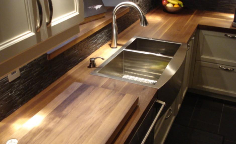 comptoir cuisine bois bois plan de travail cuisine en 71. Black Bedroom Furniture Sets. Home Design Ideas
